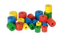 Cylinder beads